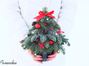 DIY Christmas Tree of Nobilis. Livemaster - handmade