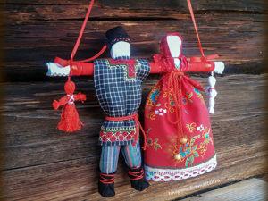 Мастер-класс: создаем куклу «Неразлучники». Ярмарка Мастеров - ручная работа, handmade.