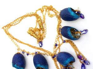 У меня новое ожерелье! Звездопад. Ярмарка Мастеров - ручная работа, handmade.