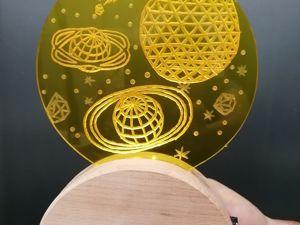 Делаем ночник от подкроватного монстра. Ярмарка Мастеров - ручная работа, handmade.