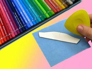 Чем обводить выкройку кукольной одежды и рисовать основу для рисунка на ткани?. Ярмарка Мастеров - ручная работа, handmade.