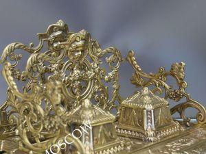 Чернильница антикварная салфетница бронза Франция DEPOSE 5. Ярмарка Мастеров - ручная работа, handmade.