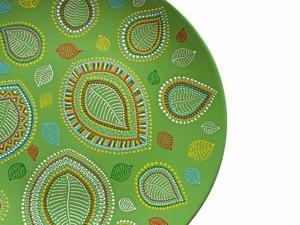 Мастер-класс по точечной росписи тарелки. Ярмарка Мастеров - ручная работа, handmade.