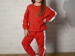 Аукцион на детский спортивный костюм Старт 700 рублей. Ярмарка Мастеров - ручная работа, handmade.