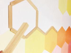 Декорируем стену сами! Ярко и стильно!. Ярмарка Мастеров - ручная работа, handmade.