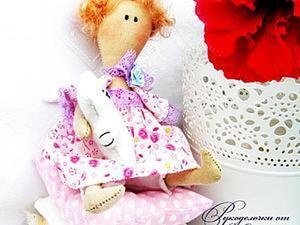 Шьем подушки для маленькой принцессы Тильды. Ярмарка Мастеров - ручная работа, handmade.