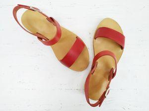 Как сделать сандалии своими руками. Ярмарка Мастеров - ручная работа, handmade.