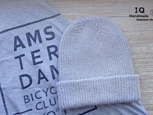 Теплая и модная шапочка в наличии. Ярмарка Мастеров - ручная работа, handmade.
