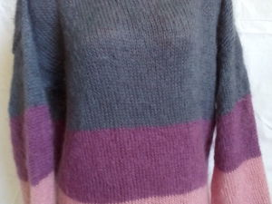 Новинка! Мохеровый свитер в полоску. Ярмарка Мастеров - ручная работа, handmade.