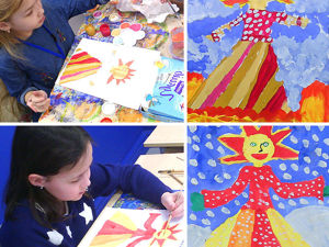 Масленица! Мастер-класс. Рисуют дети. Ярмарка Мастеров - ручная работа, handmade.