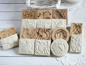 Новые прессы для печатного печенья. Ярмарка Мастеров - ручная работа, handmade.