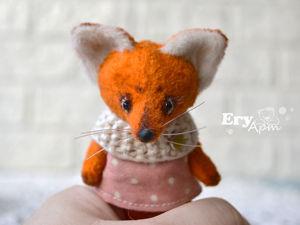 Игрушки для кукол. Обзор мини лисят и мишек. Ярмарка Мастеров - ручная работа, handmade.
