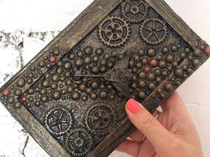 DIY Простая идея декора блокнота. Поделка из картона и бумаги. Ярмарка Мастеров - ручная работа, handmade.