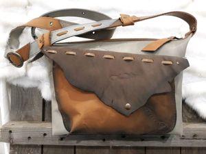 Суперстильная сумка из кожи!. Ярмарка Мастеров - ручная работа, handmade.