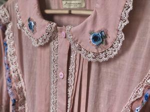 Анонс платья с вышивкой. Ярмарка Мастеров - ручная работа, handmade.