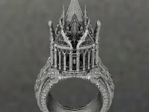 Прекрасная еврейская традиция: необычное кольцо для невесты — символ домашнего очага и верности. Ярмарка Мастеров - ручная работа, handmade.