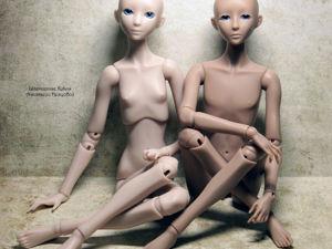 Предзаказ на кукол линейки  «неко»  28 см. Ярмарка Мастеров - ручная работа, handmade.