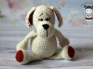 Мастерим крючком собачку-очаровашку Этап 3: Тело. Ярмарка Мастеров - ручная работа, handmade.