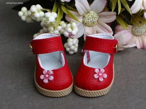Туфельки для кукол Паола Рейна. Ярмарка Мастеров - ручная работа, handmade.