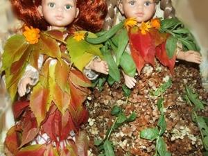 Показ Осенних бальных платьев из листьев. Ярмарка Мастеров - ручная работа, handmade.