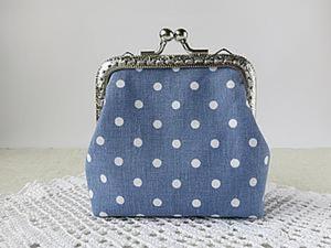 Шьём симпатичный мини-кошелёк с фермуаром. Ярмарка Мастеров - ручная работа, handmade.