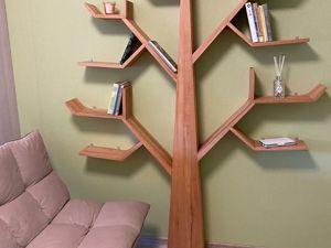 Дерево — полка. Ярмарка Мастеров - ручная работа, handmade.