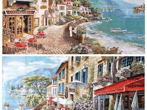Захотим, пообедаем на правом берегу, захотим — на левом. Ярмарка Мастеров - ручная работа, handmade.
