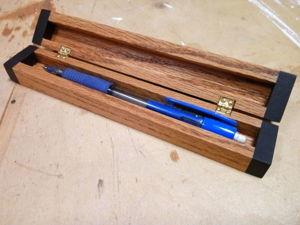 Мастерим деревянный футляр для ручки. Ярмарка Мастеров - ручная работа, handmade.