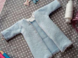 Шьем пальтишко для куклы. Ярмарка Мастеров - ручная работа, handmade.