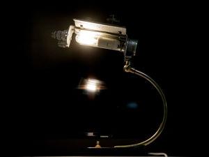 Из двух старых ламп одна космическая. Ярмарка Мастеров - ручная работа, handmade.