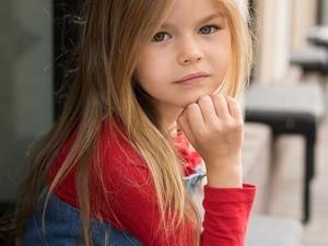 Модель ''с пелёнок'': шестилетняя москвичка Алина Якупова стала ''самым красивым ребёнком планеты''. Ярмарка Мастеров - ручная работа, handmade.