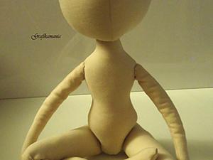 Основа текстильной куклы(часть вторая). Ярмарка Мастеров - ручная работа, handmade.