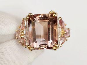 Серебряное кольцо с натуральным аметрином  «Блюз». Ярмарка Мастеров - ручная работа, handmade.