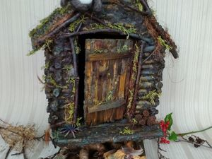 How to Make a Handmade Baba Yaga's Hut. Livemaster - handmade