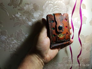 Зажим для денег ручной работы. Ярмарка Мастеров - ручная работа, handmade.