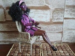 Делаем плетеный стул для Барби. Ярмарка Мастеров - ручная работа, handmade.