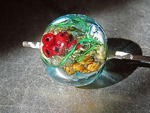 Создание стеклянного кулона-аквариума в технике лэмпворк. Ярмарка Мастеров - ручная работа, handmade.