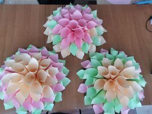 Цветок из бумаги объемный. Ярмарка Мастеров - ручная работа, handmade.