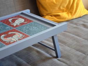 Декорируем столик своими руками: покраска, роспись, объемный декор. Ярмарка Мастеров - ручная работа, handmade.