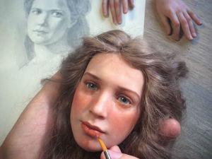 Реалистичные куклы из полимерной глины. Ярмарка Мастеров - ручная работа, handmade.