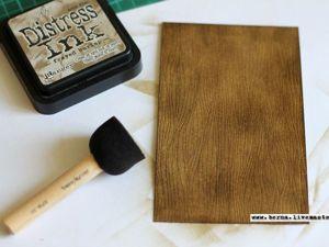 Как быстро и просто создать «деревянный» фон: мой способ. Ярмарка Мастеров - ручная работа, handmade.