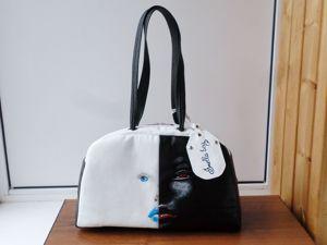АКЦИЯ Кожаная сумка со скидкой 40%. Ярмарка Мастеров - ручная работа, handmade.