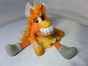 Дареному коню в зубы не смотрят )))). Ярмарка Мастеров - ручная работа, handmade.