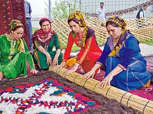Войлоковаляние в Туркменистане. Ярмарка Мастеров - ручная работа, handmade.