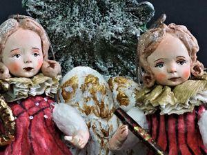 Ангелы предвесники Праздника. Ярмарка Мастеров - ручная работа, handmade.