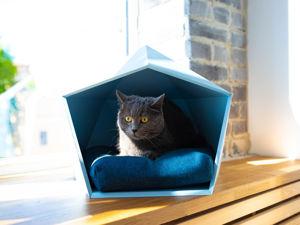 Кот и домик, как их подружить?. Ярмарка Мастеров - ручная работа, handmade.