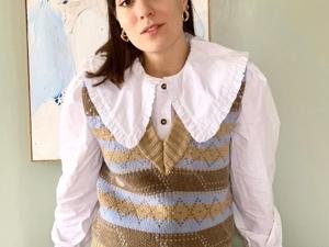 С чем носить воротничок? часть1. Ярмарка Мастеров - ручная работа, handmade.