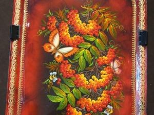 Кризисное развитие нижнетагильской росписи в 90-е гг ХХ века. Часть 5. Ярмарка Мастеров - ручная работа, handmade.