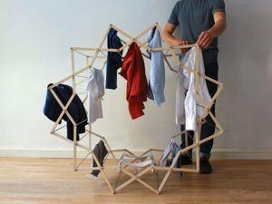 Где сушить белье в квартире красиво и удобно? (33 обычных и необычных решений). Ярмарка Мастеров - ручная работа, handmade.