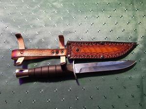 Походный нож Адмирал. Ярмарка Мастеров - ручная работа, handmade.